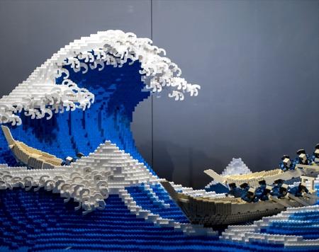 LEGO The Great Wave off Kanagawa