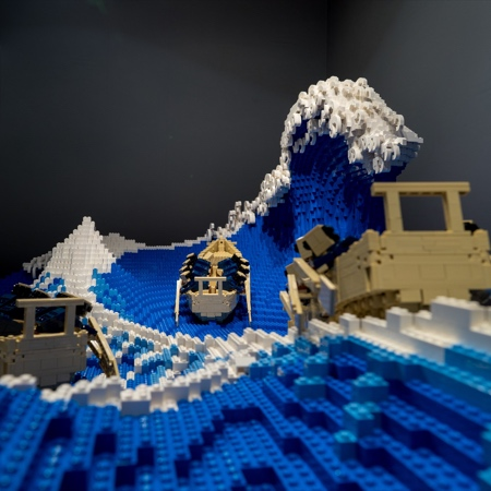 Jumpei Mitsui LEGO Great Wave
