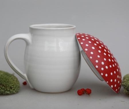 Mushroom Shaped Mug