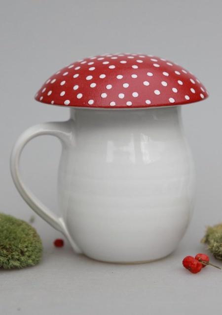 Mushroom Inspired Mug