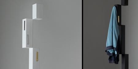 Pixel Coat Hanger