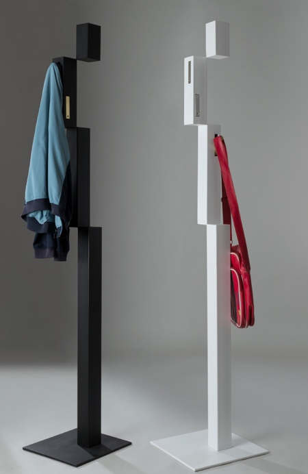 Pixel Coat Rack