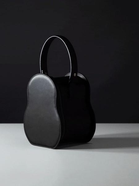 Snowman Leather Bag