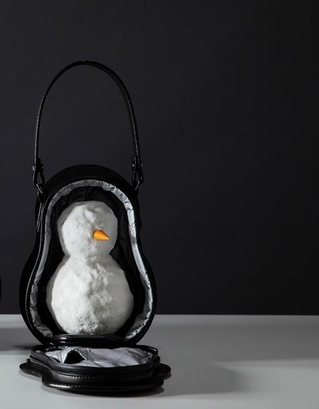 Tsuchiya Kaban Snowman Bag