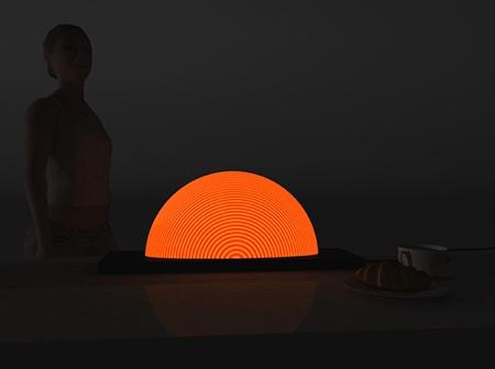Natalia Rumyantseva Sunrise Lamp