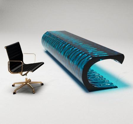 Ocean Wave Table