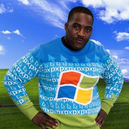 Windows XP Sweater