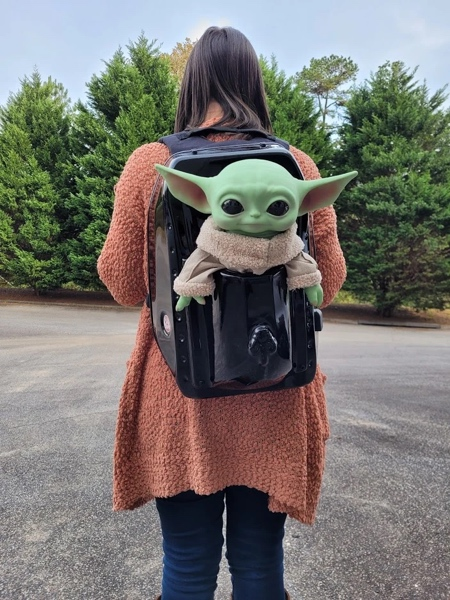 Star Wars Yoda Backpack