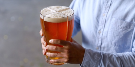 4 in 1 Beer Glass