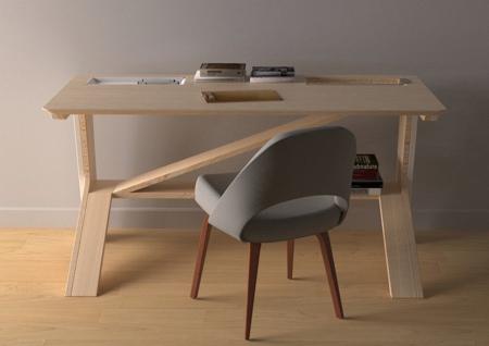 Dan Devine Cat Desk