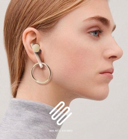 Earphones Earrings