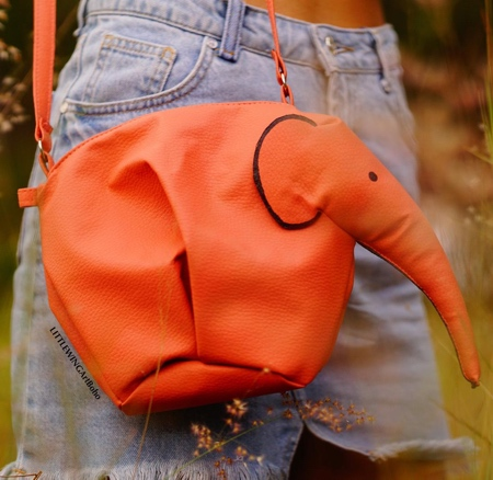 Elephant Leather Bag