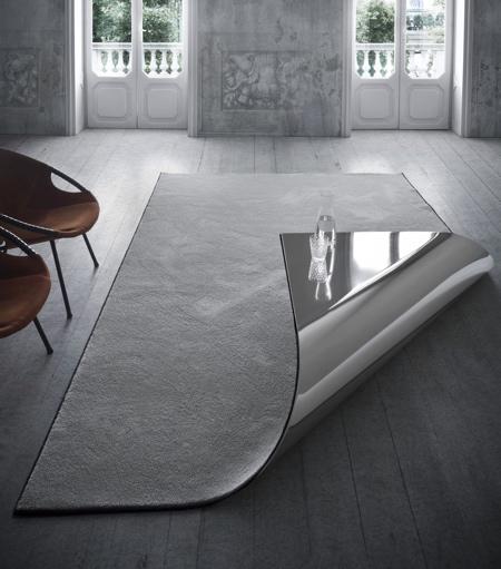 Folded Carpet Table