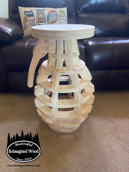 Grenade Shaped Table