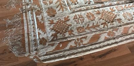 Hand Carved Rug