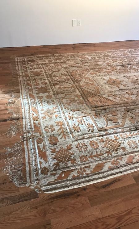 Hand Carved Carpet