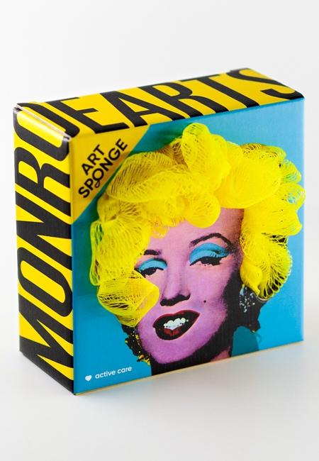 Marilyn Monroe Sponge Packaging