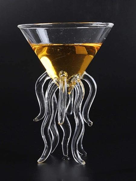 Octopus Martini Glass