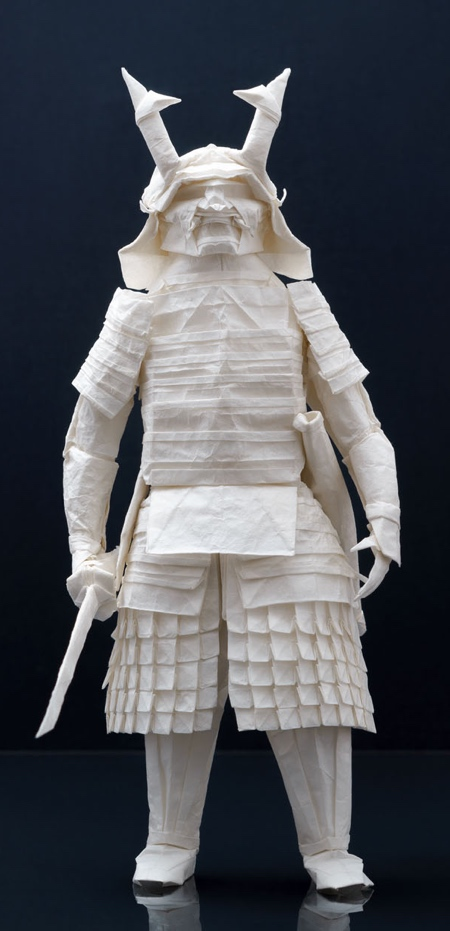 Origami Samurai Warrior