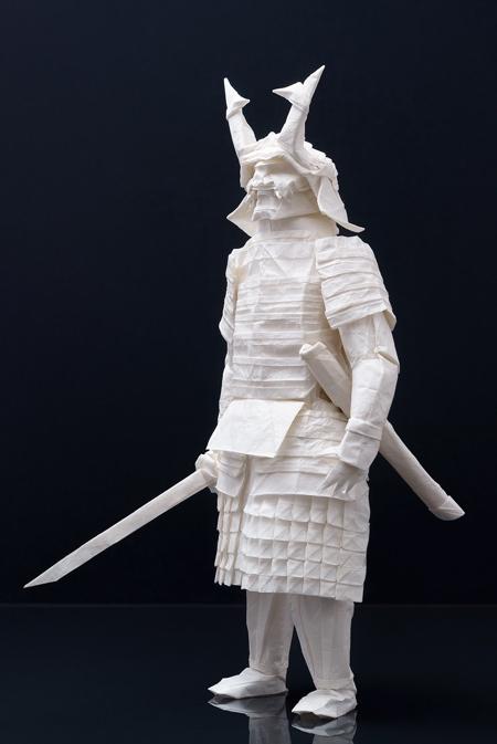 Paper Samurai Warrior