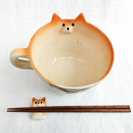 Shiba Inu Ramen Noodles Mug