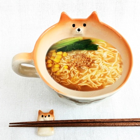 Shiba Ramen Noodles Mug