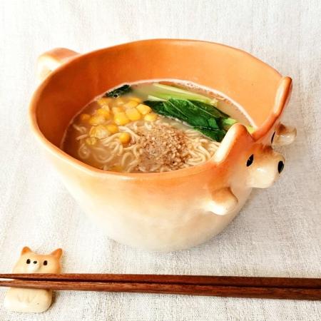 Shiba Inu Noodles Mug