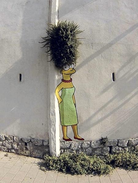 The Simpsons Art