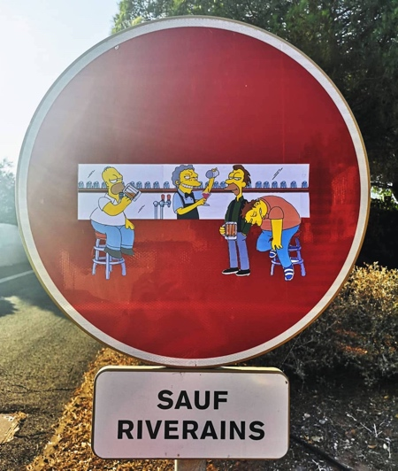 EFIX Simpsons Street Art