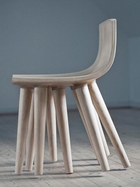 Ten Legs Rocking Chair