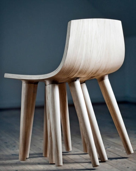 Chair with Ten Legs