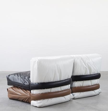 Sofa Made of Pillows