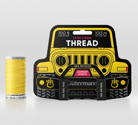 Gutermann Threads Packaging