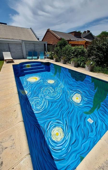 Vincent Van Gogh Swimming Pool