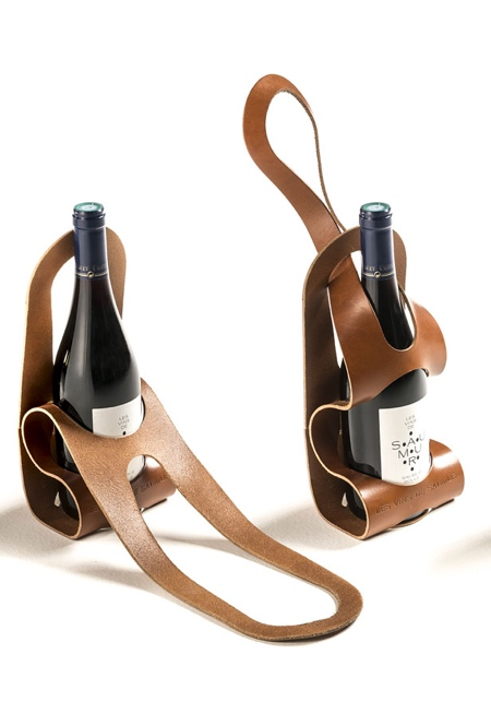 Bicycle Wine Bottle Carrier