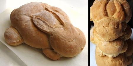 Bunny Shaped Bread
