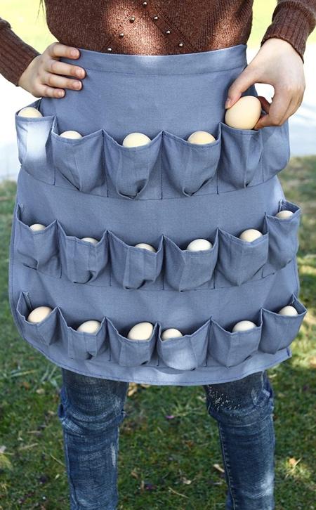 Egg Pockets Apron