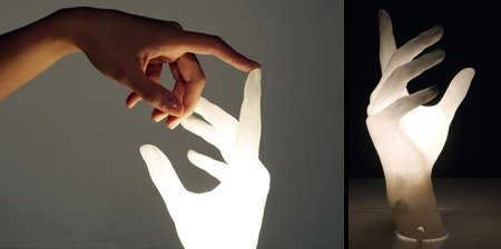 Hand Shaped Lamp