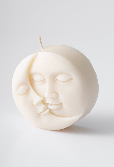 Moon and Son Candle