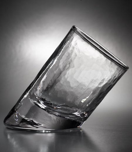 Glassblower Ben Slanted Glass