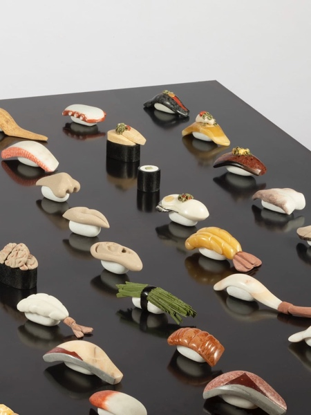 Sushi made of Stones