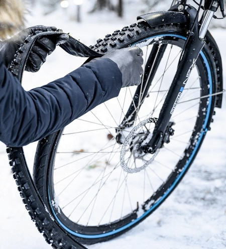 Zip-on Bike Tire