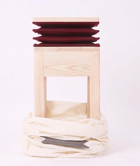 Soraia Gomes Teixeira Accordion Chair