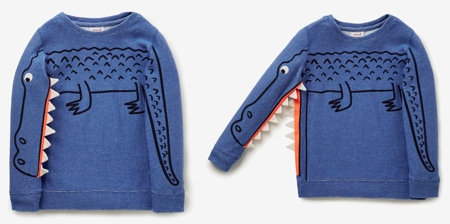Crocodile Sweater