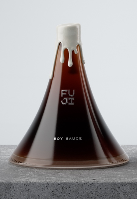 Mountain Shaped Soy Sauce
