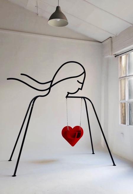 Heart Indoor Swing