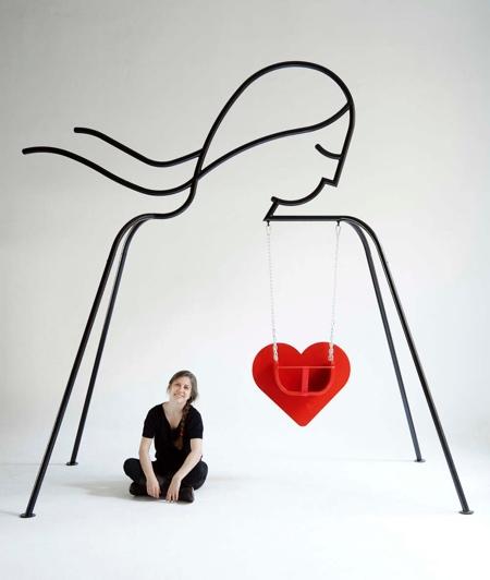 Federica Sala Heart Swing