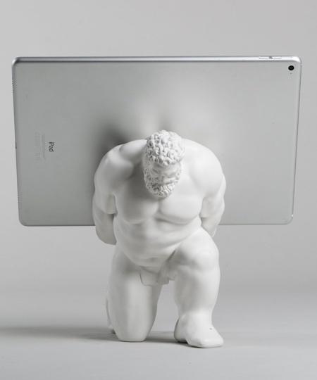 Statue iPad Stand