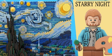LEGO Starry Night