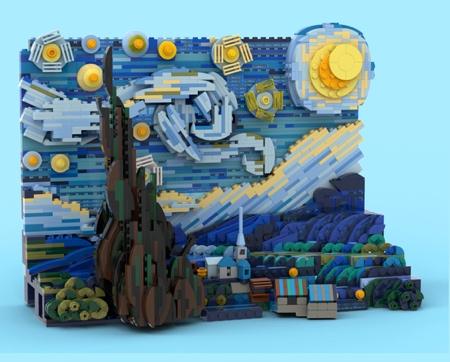 LEGO Vincent van Gogh